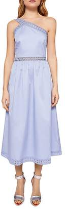 Ted Baker Kallii One-Shoulder Midi Dress