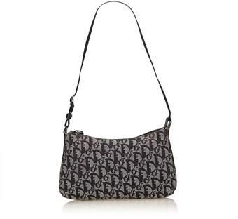Dior Pre-owned: Oblique Jacquard Shoulder Bag.