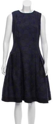 Carmen Marc Valvo Sleeveless Midi Dress w/ Tags