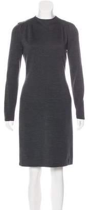 Bill Blass Long Sleeve Mini Dress