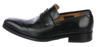 Calzoleria Harris Leather Brogue Loafers