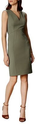 KAREN MILLEN Cutout Sheath Dress $299 thestylecure.com