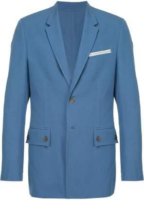 Calvin Klein zip pocket blazer
