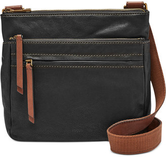 Fossil Leather Corey Crossbody $168 thestylecure.com