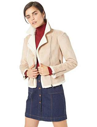 Cupcakes And Cashmere Women's bruntel Faux Suede Jacket, Extra
