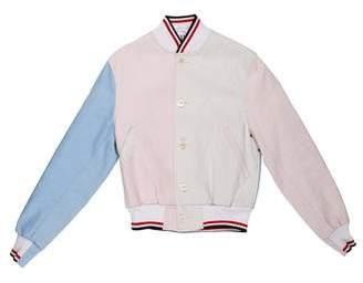 Thom Browne 2017 Colorblock Bomber Jacket