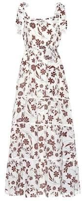 Athena Procopiou With Carly floral silk dress