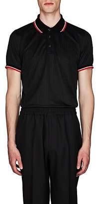 Givenchy Men's Logo Tech-Jersey Polo Shirt - Black