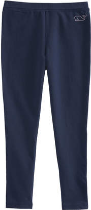 Vineyard Vines Girls Solid Whale Knit All Day Leggings