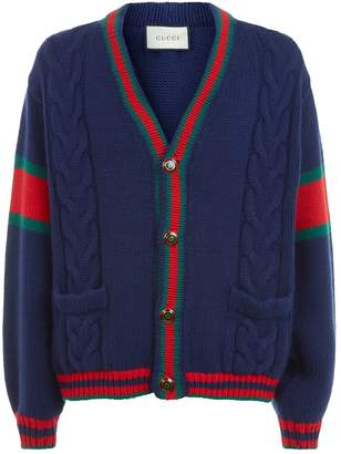 Gucci Long Sleeve Cardigan