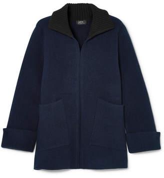 A.P.C. Venetia Wool Sweater - Navy