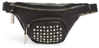 Steve Madden Stud & Imitation Pearl Belt Bag