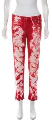 Isabel Marant Tie-Dye Mid-Rise Jeans