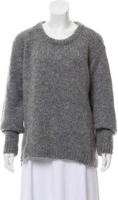Dagmar Mohair-Blend Crew Neck Sweater