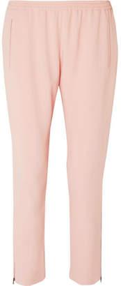 Stella McCartney Tamara Crepe Tapered Pants - Blush