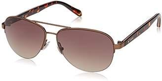 Fossil Women's Fos 3062/s Aviator Sunglasses