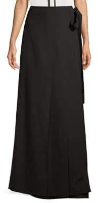 Wrap Around Floor-Length Skirt