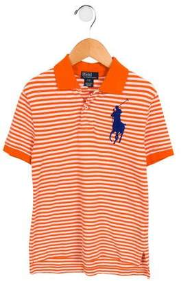 Polo Ralph Lauren Boys' Embroidered Striped Shirt