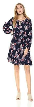 Ella Moon Women's Amabel Long Sleeve Smock Dress