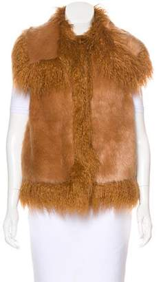 Stella McCartney 2016 Faux Fur Vest