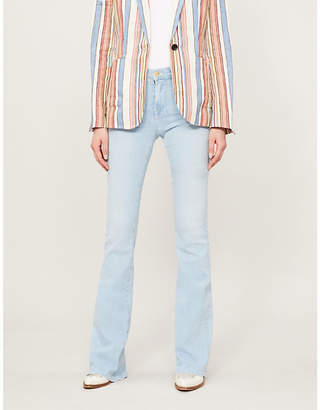 Frame Le High Flare faded jeans