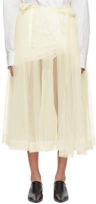 Molly Goddard Ivory August Skirt