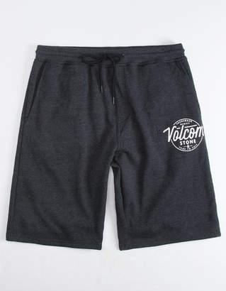 Volcom Rainmaker Charcoal Mens Sweat Shorts