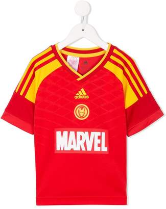 Iron Man Adidas Kids Marvel football set