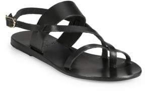 Ancient Greek Sandals For Peter Pilotto Alethea Leather Sandals