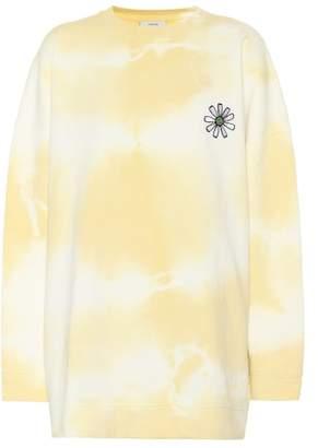 Ganni Stonecrop Isoli cotton sweatshirt