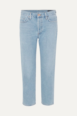 Gold Sign The Low Slung Mid-rise Jeans - Mid denim