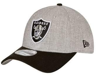 New Era Oakland Raiders 9FORTY Heather Snapback Cap