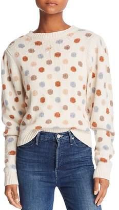 Rebecca Taylor Jacquard Dot Sweater