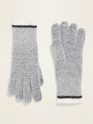 Old Navy Text-Friendly Sweater-Knit Gloves for Women