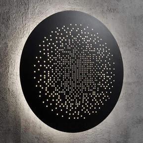 Effektvoll leuchtende LED-Wandlampe Hunt