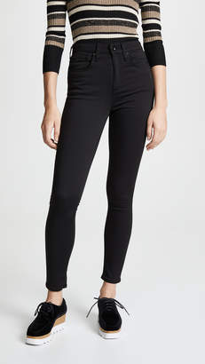 Rag & Bone The Plush High-Rise Skinny Jeans