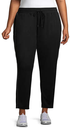ST. JOHN'S BAY SJB ACTIVE Active Texture Mix Colorblock Pant - Plus