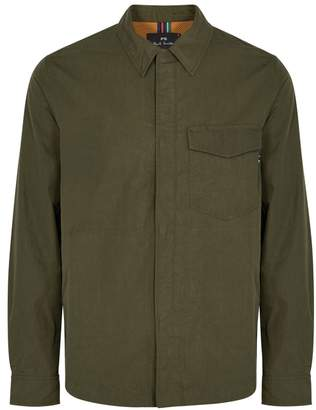 Paul Smith Army Green Shell Jacket