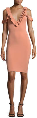Ronny Kobo Sora Ruffle Dress