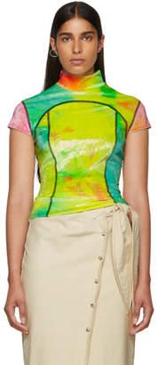 Eckhaus Latta Multicolor Velvet Sport T-Shirt