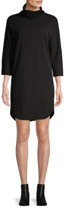 Halston H High-Low Hem Cocoon Dress
