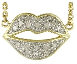 Diamond Lip Pendant