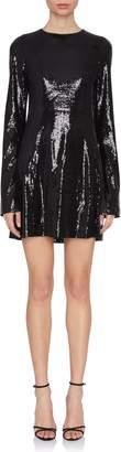 Galvan Galaxy Sequin Mini Dress