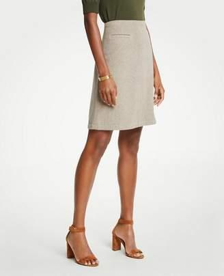 Ann Taylor Petite A-Line Pocket Skirt