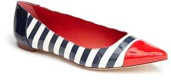 Kate Spade Stripe Flat