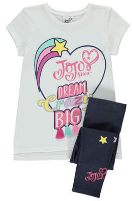 George JoJo Siwa Dream Crazy Big Top and Leggings Set