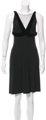 Giorgio Armani Sleeveless Knee-Length Dress
