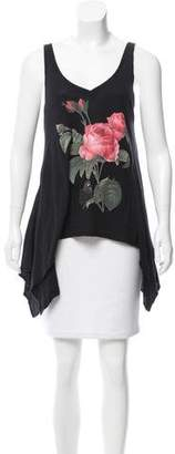 Wildfox Couture Flower Tank Top