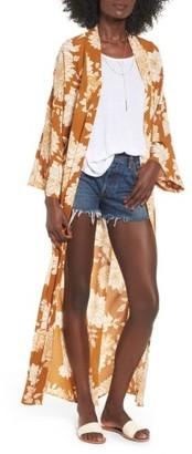 Women's Mimi Chica Long Jacket $49 thestylecure.com