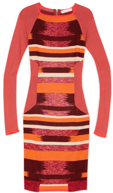 Matthew Williamson Raglan Sleeve Dress